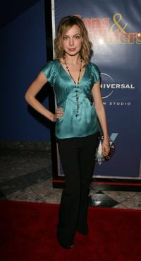 Amanda Walsh at the premiere of