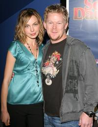 Amanda Walsh and Greg Pitts at the premiere of