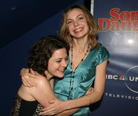 Alison Quinn and Amanda Walsh at the premiere of