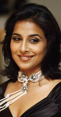 Vidya Balan at the jewellery line in New Delhi.