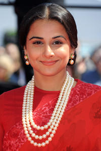 Vidya Balan at the premiere of