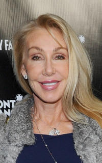 Linda Thompson at the Vanity Fair Montblanc party celebrating The Collection Princesse Grace de Monaco in California.