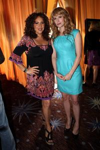 Diana Maria Riva and Jennifer Wade at the Fox 2010 Summer Television Critics Association all-star party.
