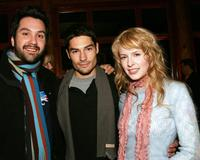 Warren Zavala, D.J. Catrona and Jennifer Wade at the Gersh Agency Party during the Sundance Film Festival.