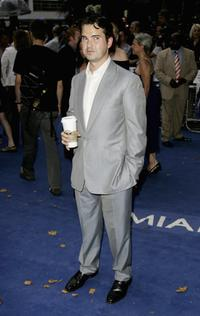 Jimmy Carr at the European premiere of