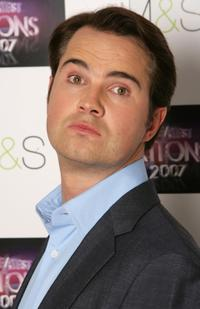 Jimmy Carr at the Greatest Britons 2007 awards.