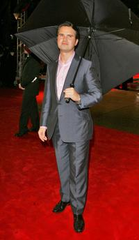Jimmy Carr at the UK premiere of