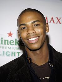 Mehcad Brooks at the Maxims unveiling of the New Heineken Premium Light.