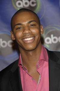 Mehcad Brooks at the ABC Winter Press Tour All Star Party.