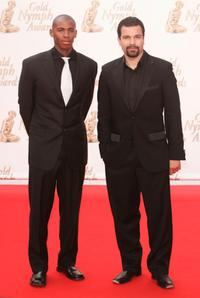 Mehcad Brooks and Ricardo Chavira at the closing ceremony of 45th Television festival of Monte Carlo.