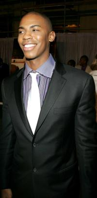Mehcad Brooks at the premiere of