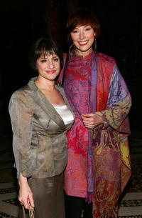 Patti LuPone and Karen Akers at the American Theatre Wing Annual Spring Gala.
