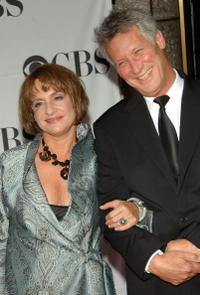 Patti LuPone and Matt Johnson at the 61st Annual Tony Awards.