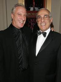 Robert LuPone and director Bob Avian at the opening night of