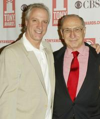 Robert LuPone and Hal Newman at the 2004 Tony Awards Nominees Press Reception.