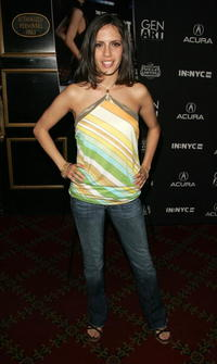 Paola Mendoza at the Tenth Annual Gen Art Film Festival Screening of