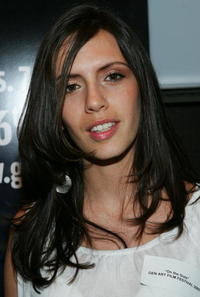 Paola Mendoza at the 10th Annual Gen Art Film Festival launch party.