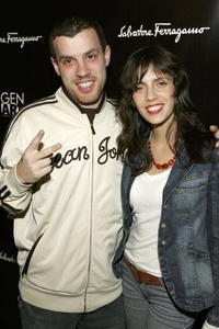 Director Michael Skolnik and Paola Mendoza at the Gen Art Eleventh Annual Film Festival Launch party.