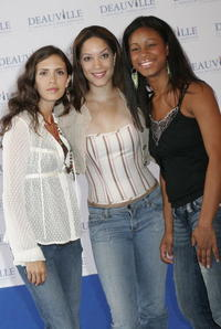 Paola Mendoza, Judy Marte and Anny Mariano at the 31st Deauville Festival Of American Film.