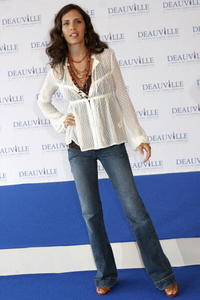 Paola Mendoza at the 31st Deauville Festival Of American Film.