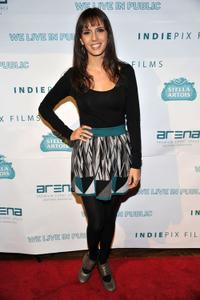 Paola Mendoza at the premiere of