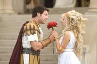 Adam Sandler and Teresa Palmer in