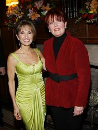 Susan Lucci and Maureen McGovern at the AFTRA Media and Entertainment Excellence Awards.