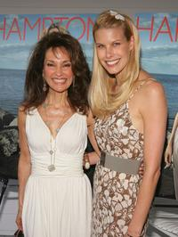 Susan Lucci and Beth Osrosky at the Hamptons Magazine 30th Anniversary party.