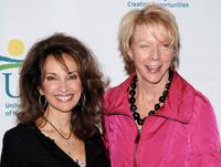 Susan Lucci and President of Hearst Magazines Cathleen Black at the 7th Annual Women Who Care Luncheon.
