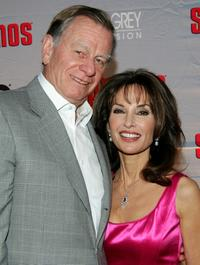 """Helmut Huber and Susan Lucci at the premiere of """"The Sopranos."""""""