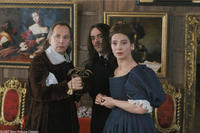 Fabrice Luchini, Romain Duris and Laura Morante in