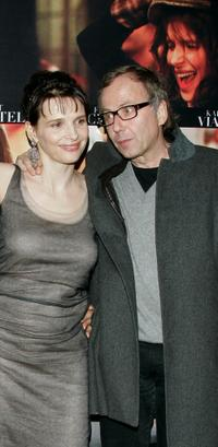 Juliette Binoche and Fabrice Luchini at the premiere of