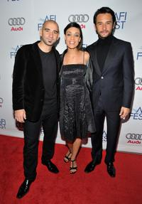 Pablo Trapero, Martina Gusman and Rodrigo Santoro at the 2008 AFI FEST.