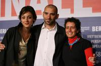 Martina Gusman, Pablo Trapero and Albertina Carri at the photocall of