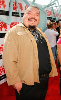Pedro Miguel Arce at the premiere of