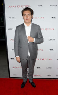 Director Joe Wright at the California premiere of