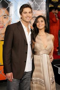Eric Winter and Roselyn Sanchez at the premiere of