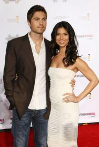 Eric Winter and Roselyn Sanchez at the Rally For Kids - Kick Off Cocktail party.