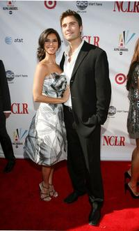 Roselyn Sanchez and Eric Winter at the 2008 ALMA Awards.