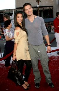 Roselyn Sanchez and Eric Winter at the premiere of