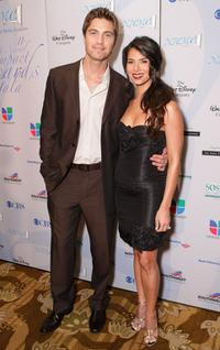 Eric Winter and Roselyn Sanchez at the 11th Annual Impact Awards Gala.