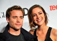 Dustin Milligan and Jessica Stroup at the 7th Annual Teen Vogue Young Hollywood party.
