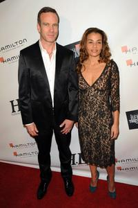 Matthias Breschan and Jenny Lumet at the Hollywood Life's Behind The Camera Awards.