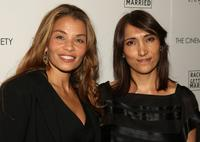 Jenny Lumet and Neda Armian at the screening of