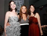Anne Hathaway, Jenny Lumet and Rosemarie DeWitt at the after party of the premiere of