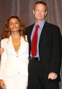 Jenny Lumet and Bill Irwin at the premiere of