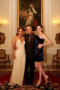 Jenny Lumet, Jonathan Demme and Anne Hathaway at the after party of the premiere of