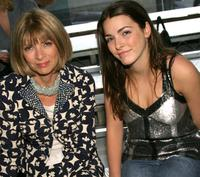 Anna Wintour and Bea at the Proenza Schouler - Spring 2005 fashion show during the Olympus Fashion week Spring 2005.