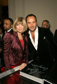 Anna Wintour and Tom Ford at the book launch party of