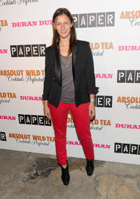 Sally Singer at the 2011 Paper Magazine Beautiful People Party in New York.